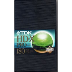 TDK HD-X PRO 180 - Video Cassettes for Sale