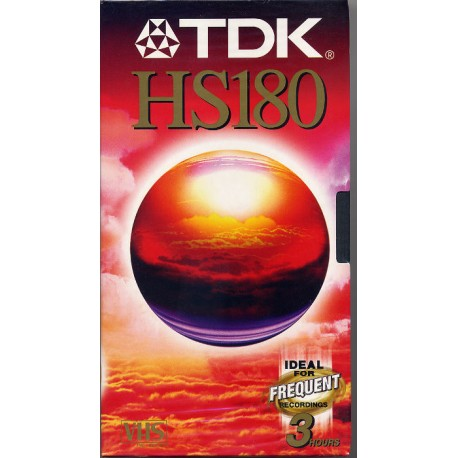 TDK HS 180 - Video Cassettes for Sale
